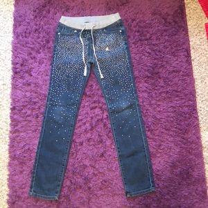 Justice 12R skinny jeans